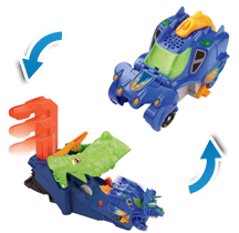 Triceratops Deluxe Launcher Play set