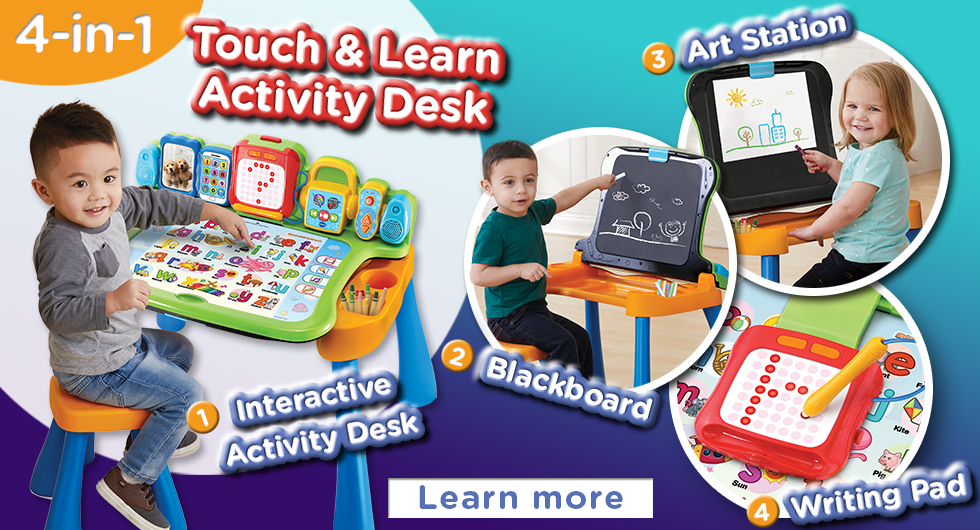 Touch & Learn Activity Desk