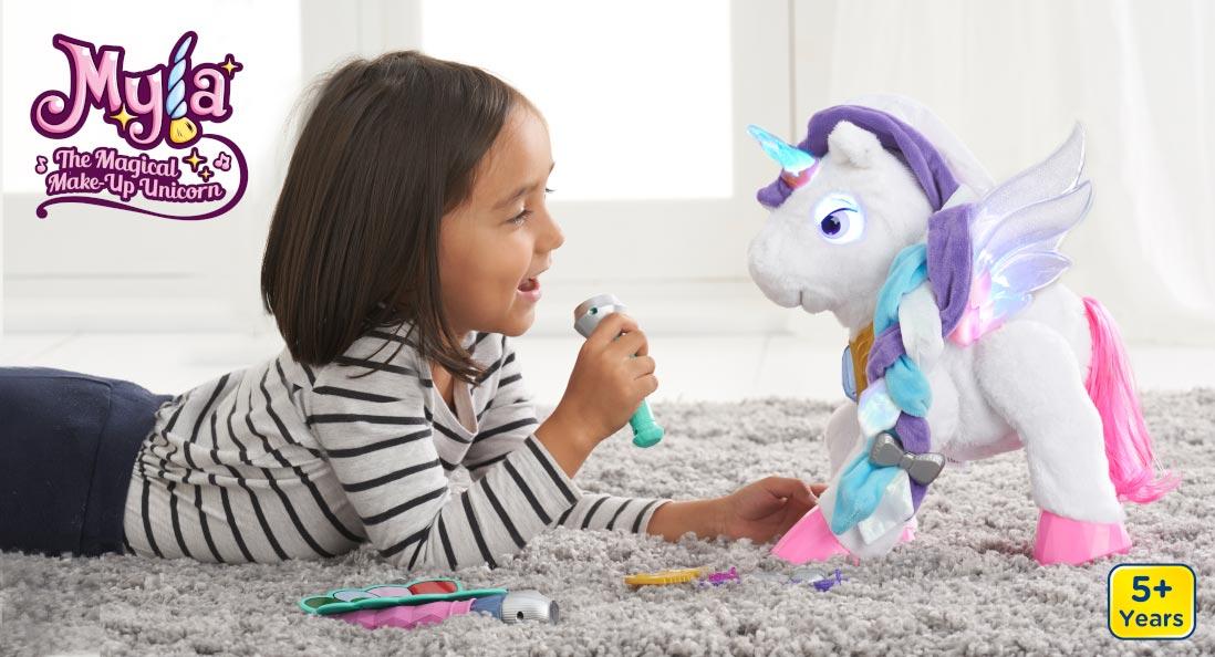 Magical makeup unicorn