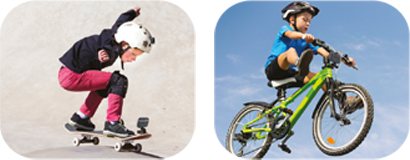 Outdoor Activities - Attach it to bikes, skateboards and more.