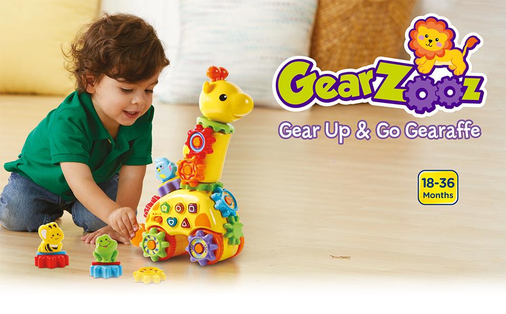 Gearzooz - Gear Up & Go Gearaffe