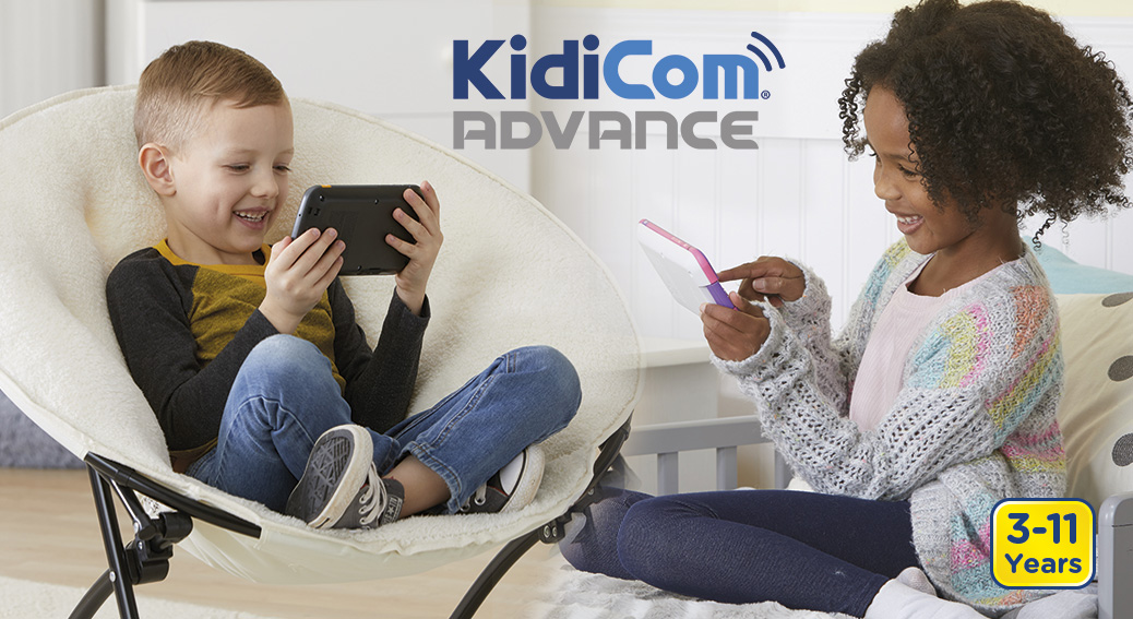KidiCom® Advance. 3-11 Years.