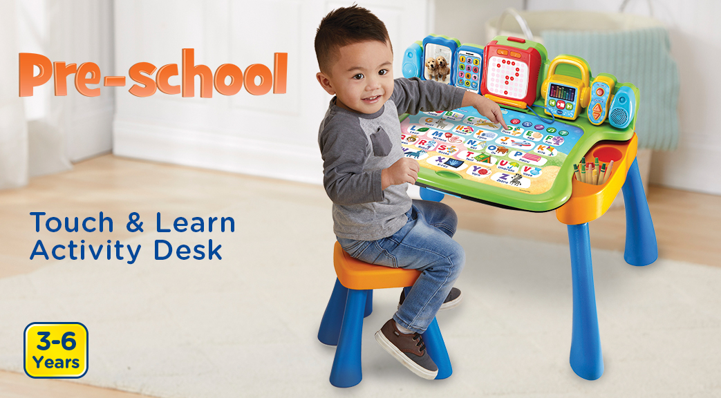 Touch & Learn Activity Desk. 3-6 Years.