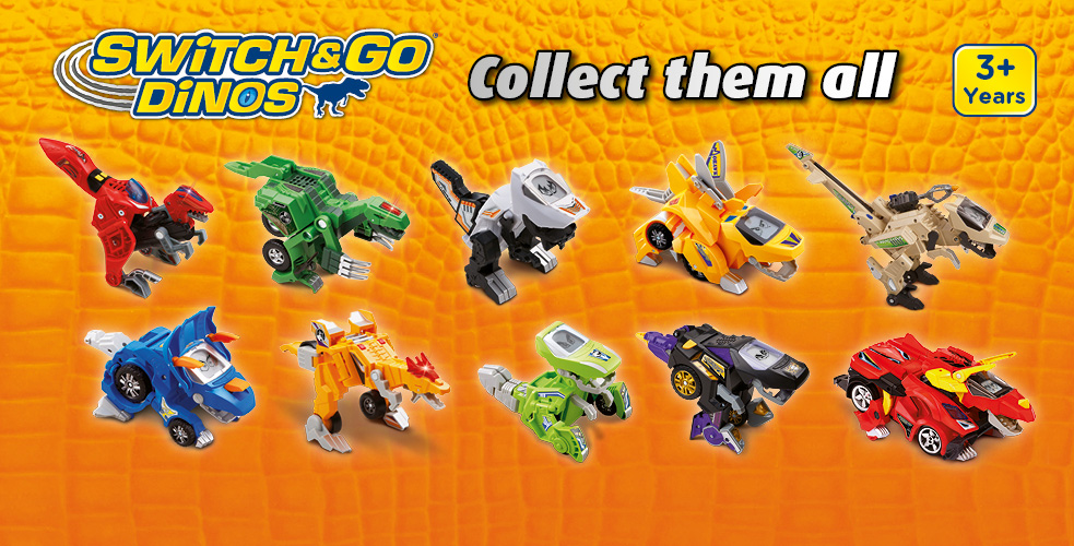Switch & Go Dinos Collect them all