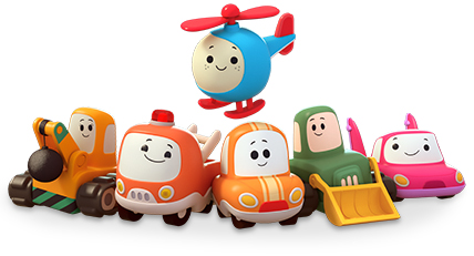 Toot-Toot Cory Carson™ Characters & Playsets