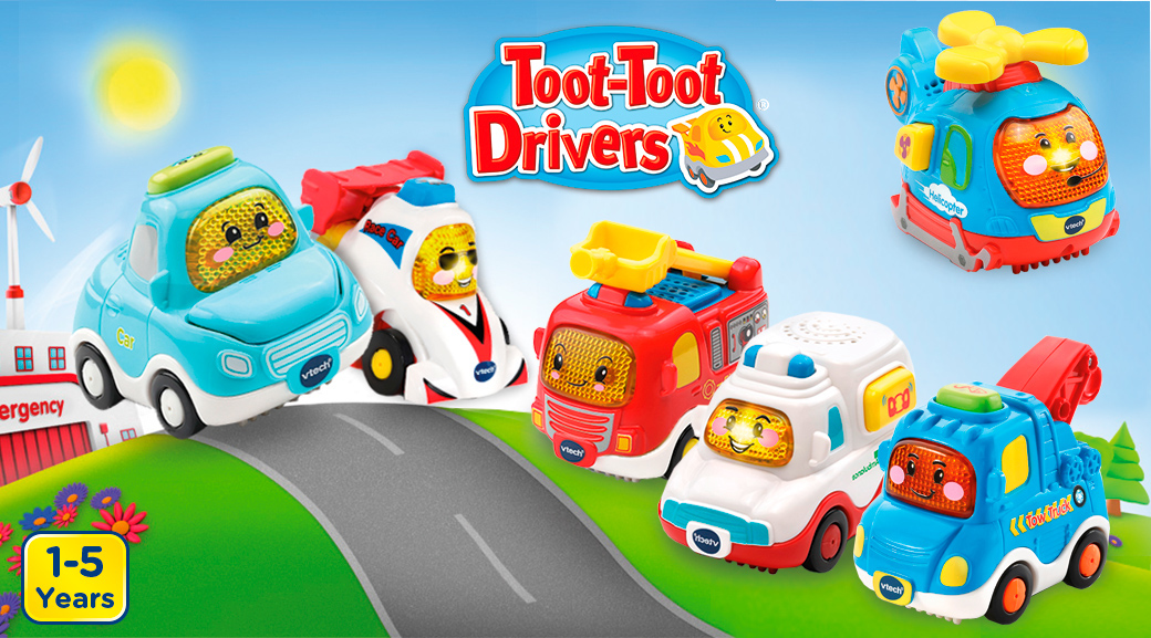 Toot-Toot Drivers. 1-5 Years.